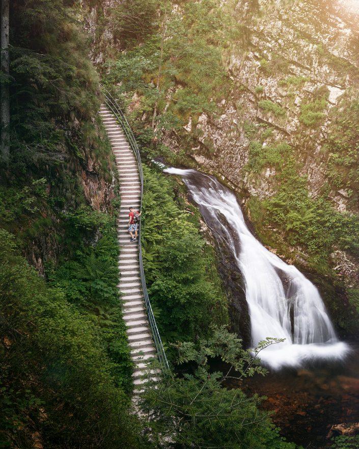Allerrheiligen Wasserfälle, Schwarzwald