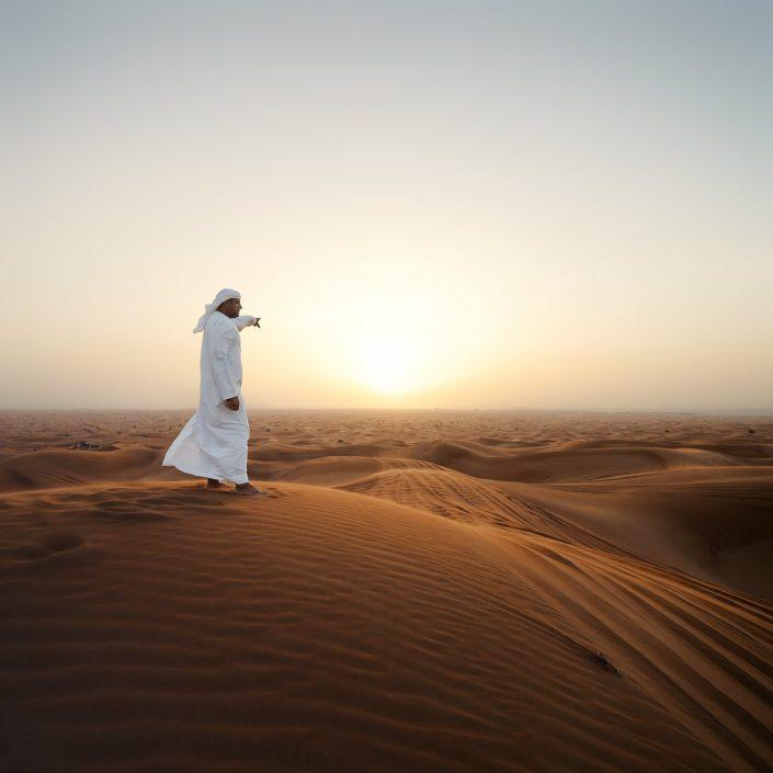 Dubai, Desert, Sunset