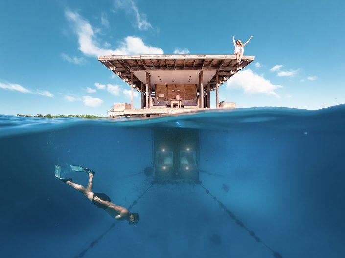 Unterwater Room, Manta Resort, Tanzania
