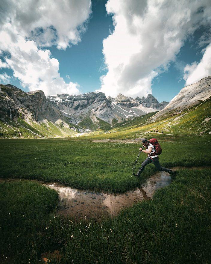 Hiking Flims