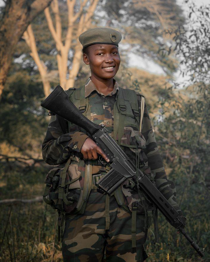 Female Ranger Kenya