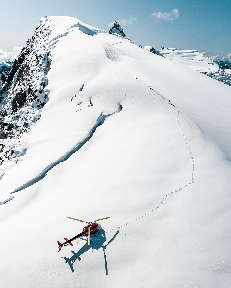 Heli Hiking in British columbia