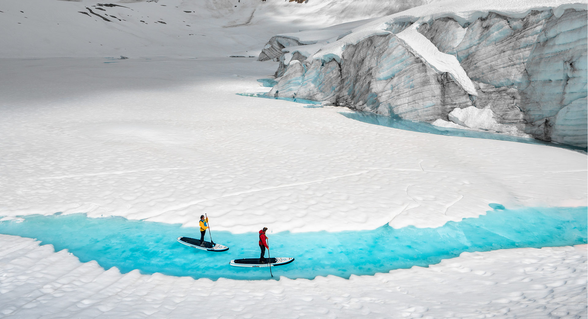 Tourism Campbell River Stand Up Paddle Board Glacier