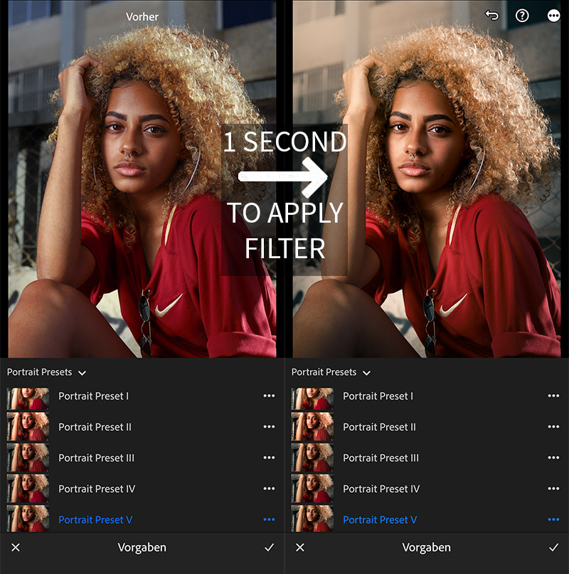 lightroom portrait presets
